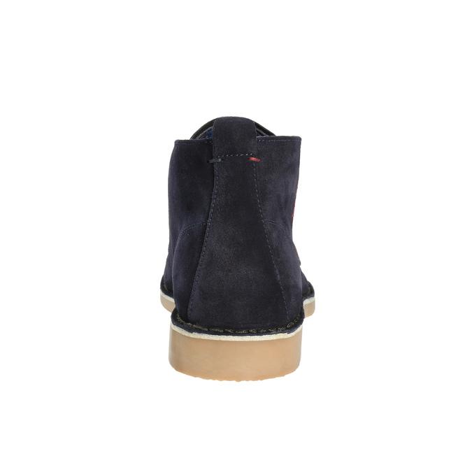 Pánské kožené Desert Boots u-s-polo-assn-, modrá, 823-9071 - 17