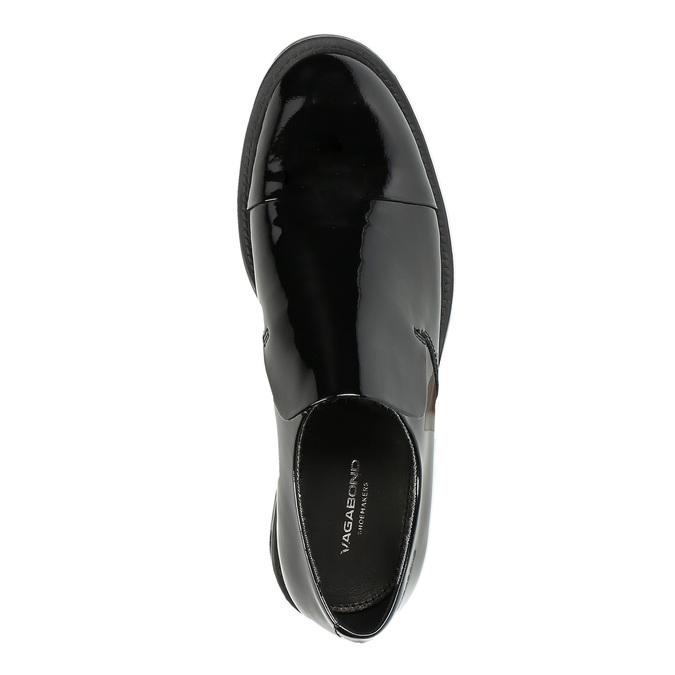 Dámské kožené mokasíny vagabond, černá, 518-6006 - 19