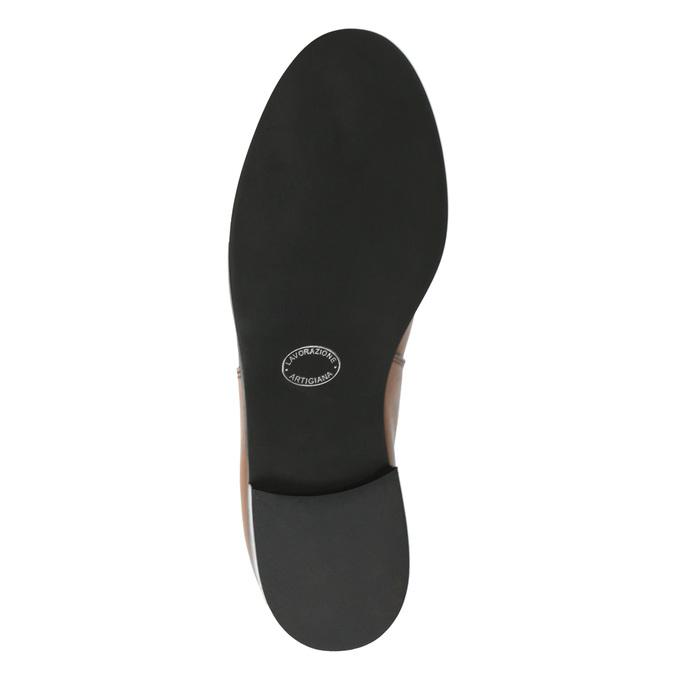 Dámské kožené Chelsea boots bata, hnědá, 594-3902 - 26