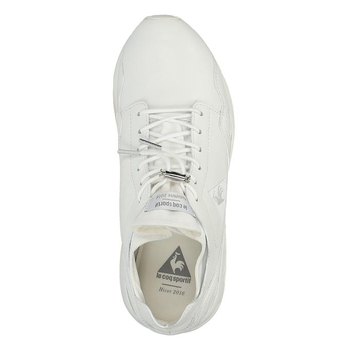 Bílé dámské tenisky ve sportovním stylu le-coq-sportif, bílá, 504-1510 - 19