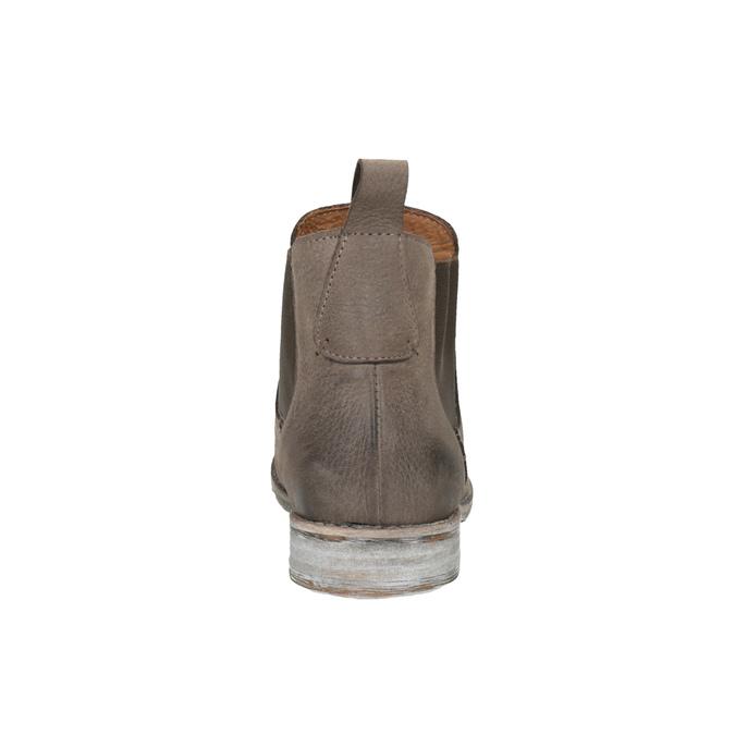 Kožené Chelsea Boots bata, hnědá, 596-4641 - 17