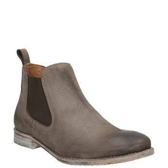Kožené Chelsea Boots bata, hnědá, 596-4641 - 13