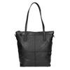 Kožená kabelka s odnímatelným popruhem bata, černá, 964-6234 - 26