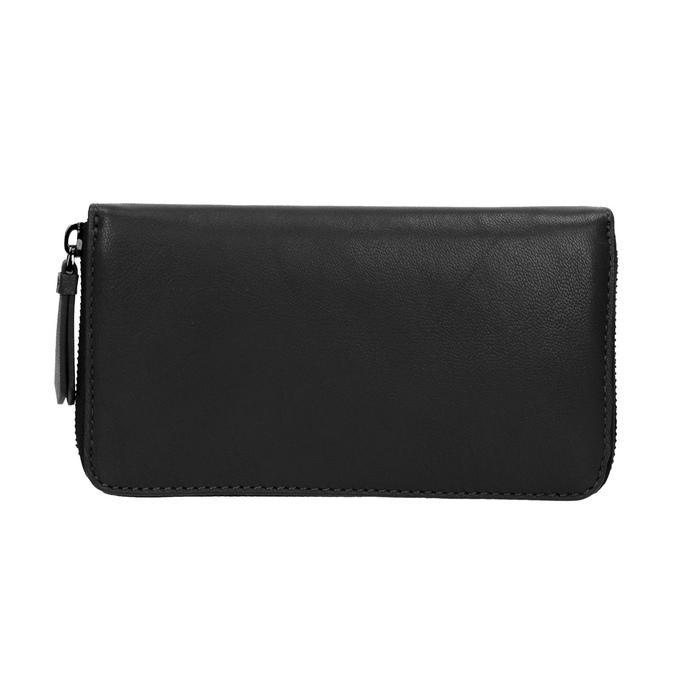 Dámská kožená peněženka černá bata, černá, 944-6165 - 26