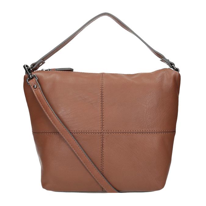 Kožená Hobo kabelka bata, hnědá, 964-4233 - 19