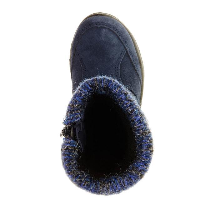 Dívčí zimní obuv mini-b, modrá, 299-9151 - 19