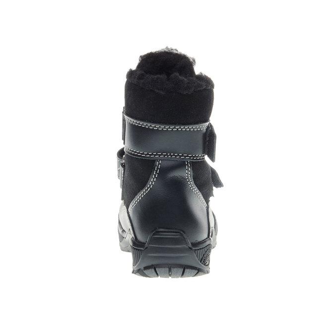 Dětské zimní boty mini-b, černá, 194-6100 - 17