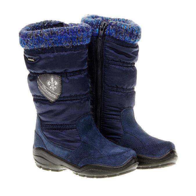 Dívčí zimní obuv mini-b, modrá, 299-9151 - 26