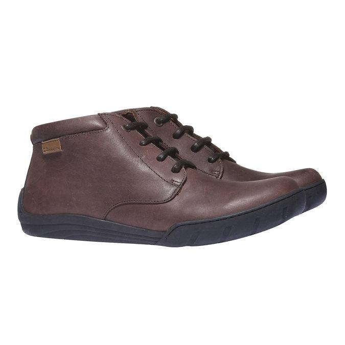 Ankle Boots el-naturalista, hnědá, 896-4018 - 26