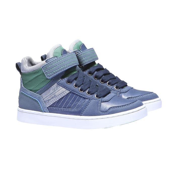 Kotníčkové tenisky mini-b, modrá, 311-9122 - 26