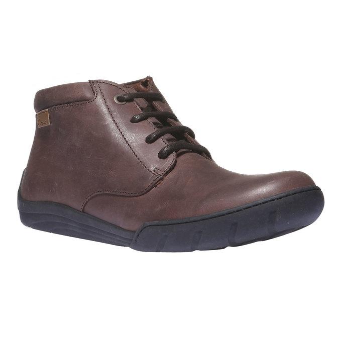 Ankle Boots el-naturalista, hnědá, 896-4018 - 13