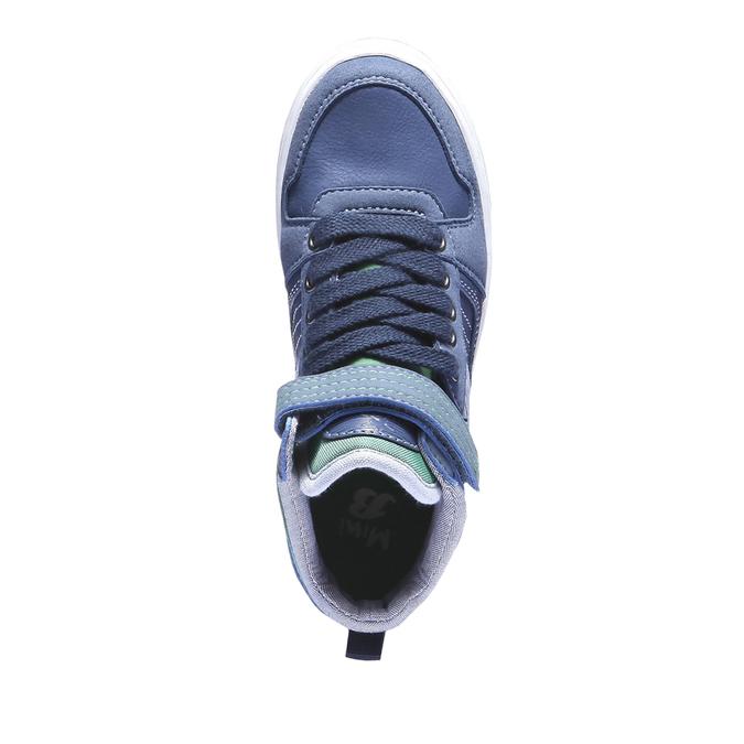 Kotníčkové tenisky mini-b, modrá, 311-9122 - 19