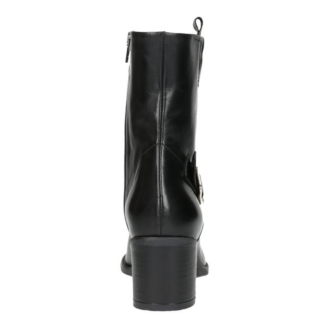 Dámská kotníčková obuv bata, černá, 694-6359 - 17