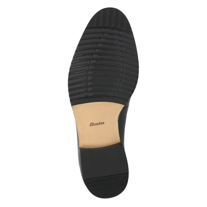 Pánské Derby polobotky bata, černá, 824-6659 - 26