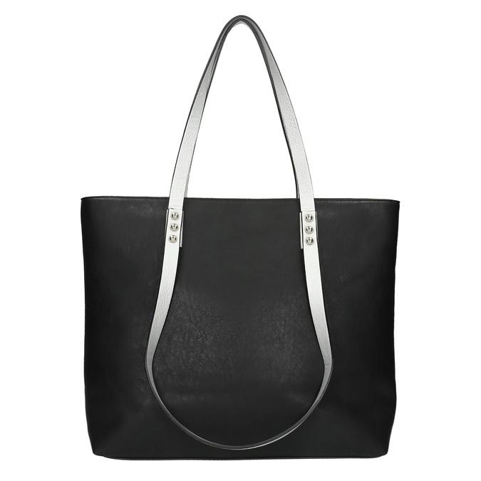 Dámská kabelka s dvojitými uchy bata, černá, 961-6625 - 26