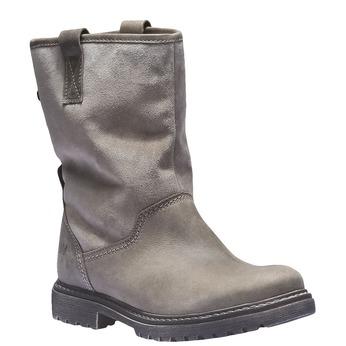 Kožená obuv s protiskluzovou podešví weinbrenner, hnědá, 596-3100 - 13