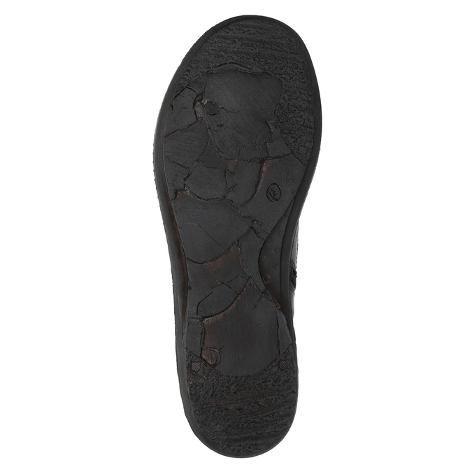 Dámská kotníčková obuv bata, černá, 526-6602 - 26