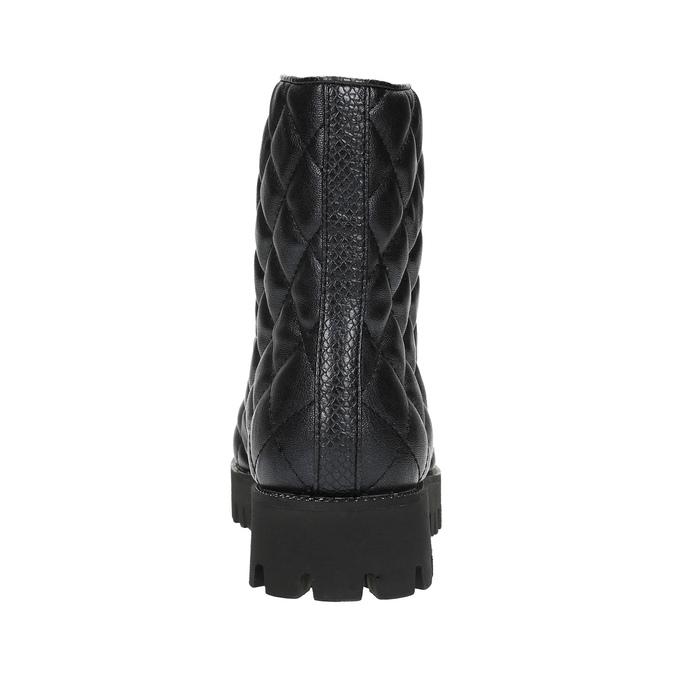 Dámská kotníčková obuv bata, černá, 591-6614 - 17