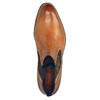 Kožená kotníčková obuv se zateplením bugatti, hnědá, 814-3003 - 19