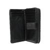 Dámská prošíváná peněženka bata, černá, 941-6135 - 15