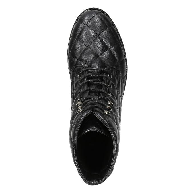 Dámská kotníčková obuv bata, černá, 591-6614 - 19