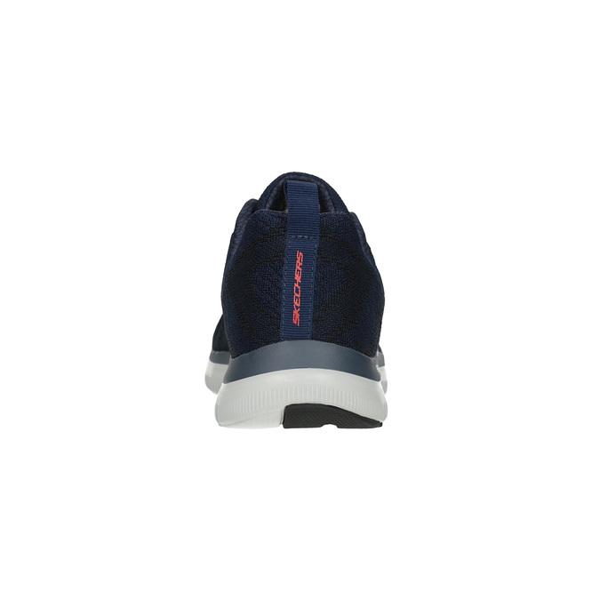 Pánské sportovní tenisky skecher, modrá, 809-9350 - 17