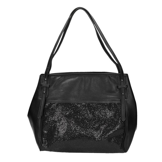 Dámská kabelka se třpytkami bata, černá, 961-6213 - 26