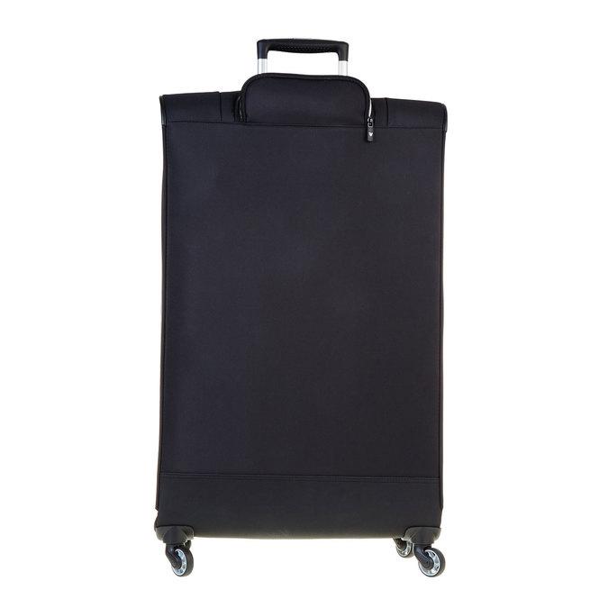 Černý kufrt na kolečkách roncato, černá, 969-6632 - 26