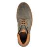 Kožená kotníčková obuv na výrazné podešvi bata, šedá, 893-2650 - 19
