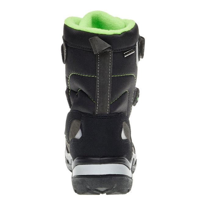 Kožená zimní obuv mini-b, šedá, 499-2110 - 17
