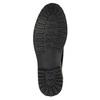 Kožená kotníčková obuv s výraznou podešví bata, modrá, 893-9650 - 26