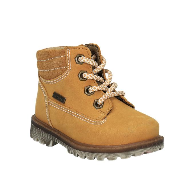 Dětská kožená obuv richter, béžová, 296-8003 - 13