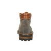 Kožená kotníčková obuv na výrazné podešvi bata, šedá, 893-2650 - 17