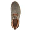 Kožené pánské Chukka Boots bata, hnědá, 893-3652 - 19