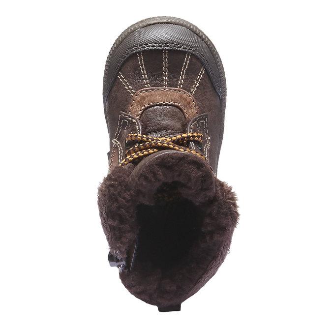 Kids shoes mini-b, hnědá, 191-4100 - 19