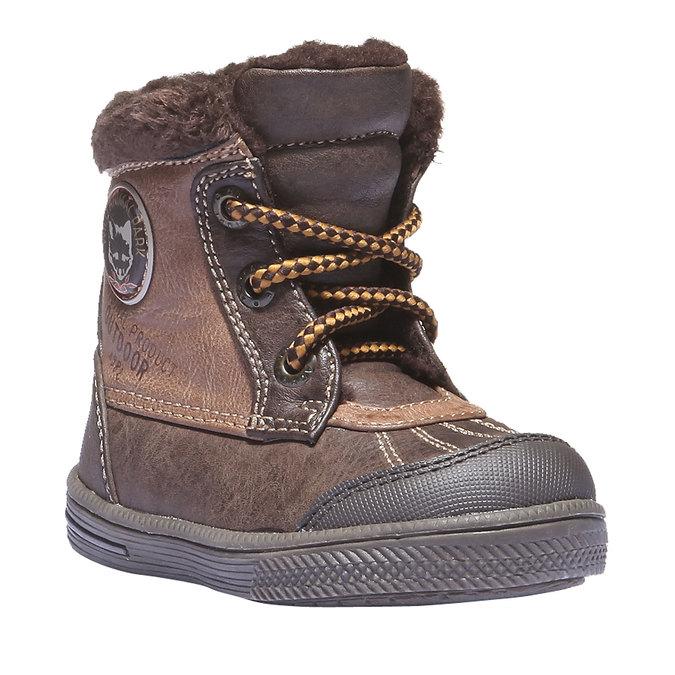 Kids shoes mini-b, hnědá, 191-4100 - 13