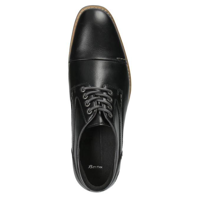 Pánské ležérní polobotky bata, černá, 821-6600 - 19