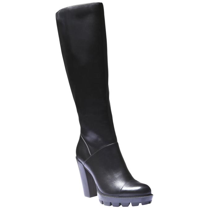 Kozačky na originální podešvi bata, černá, 791-6574 - 13
