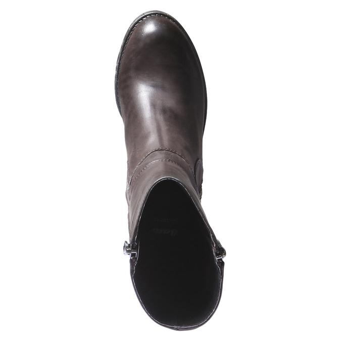 Kožená zimní obuv bata, hnědá, 794-4259 - 19