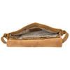 Kožená brašna přes rameno wildskin, hnědá, 966-4024 - 15