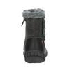 Dětská kotníčková obuv bubblegummer, černá, 191-6612 - 17