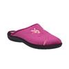 Dámská domácí obuv s výšivkou bata, růžová, 579-0603 - 13