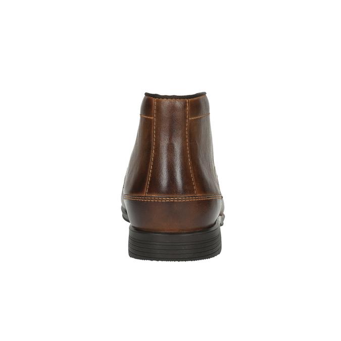Pánská kotníčková obuv kožená rockport, hnědá, 824-3019 - 17
