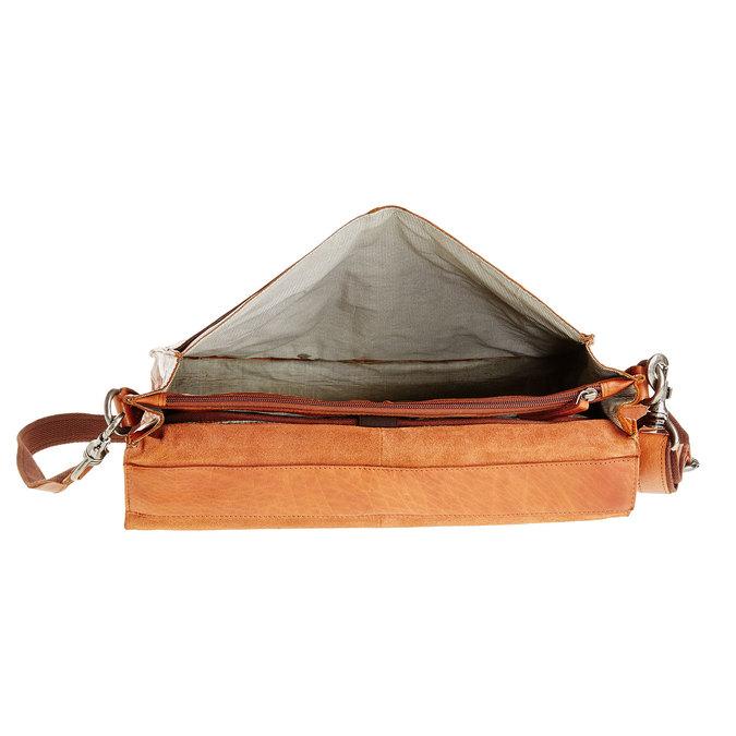 Kožená aktovka bata, hnědá, 964-3138 - 15