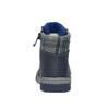 Dětská kožená obuv se zateplením bubblegummer, modrá, 116-9102 - 17