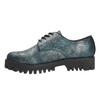 Dámské polobotky bata, tyrkysová, 521-9600 - 26