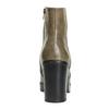 Kotníčková obuv na širokém podpatku bata, hnědá, 791-3601 - 17