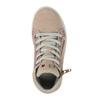 Dětské kožené tenisky nad kotníky mini-b, růžová, 323-5171 - 19