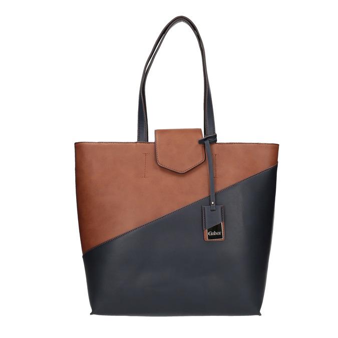 Dvoubarevná dámská kabelka gabor-bags, modrá, 961-9002 - 26