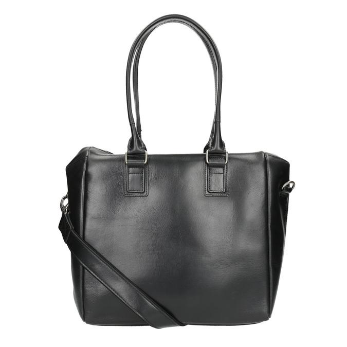 Kožená kabelka s odnímatelným popruhem royal-republiq, černá, 964-6039 - 19